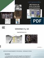 Diapositiva # 14 Métodos Subterráneos 2017 I S 9-10