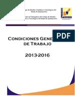 CGT 2013 - 2016