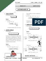 II BIM - 5to. Año - ALG- Guía 4 - Factorización II.doc