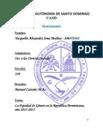 Equidad de Genero en La Republica 2017
