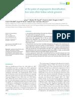 Angiosperm Diversification