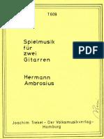 Ambrosius_spielmusik (2 Guitars)