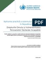 STUDIU Aplicarea Practică a Sistemului de Tutelă În Republica Moldova