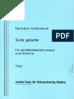 Ambrosius Herman  Suite Galante