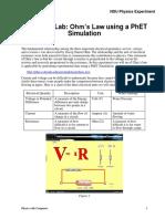 OHMS LAW Simulation