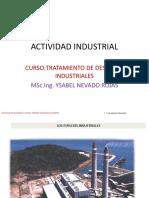 Actividad Industrial Tratamiento de Desechos 2016 Ynr