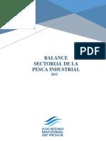 Balance Sector Pesquero 2015