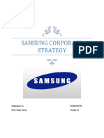 Samsung Corporate strategy