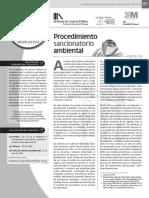 Procedimiento Sancionatorio  Ambiental