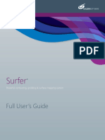 Golden Software Surfer v15 - User's Guide [Surfer15UsersGuide-eBook]
