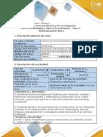 Guia de actividades y rubrica de evaluación - Paso 2 - Sistematización de datos (1).docx