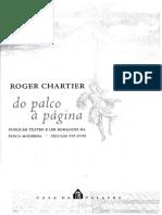 CHARTIER, Roger - Do Palco à Página