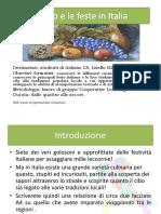 Web Quest Il Cibo e Le Feste in Italia