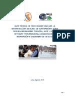 Guía Técnica de Señalización Rutas de Evacuación y Zonas Seguras FEN2