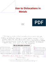 Introduction to Dislocations in Metals