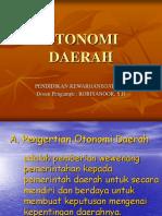 Bab x Otonomi Daerah