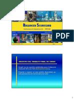 BSC - Ejemplo Práctico I