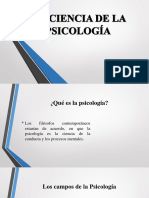 La Ciencia de La Psicología