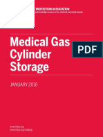 Med Gas Cylinder Storage WP 4