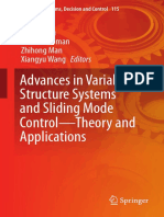 (Studies in Systems Decision and Control 115) Fridman, Leonid_ Li, Shihua_ Man, Zhihong_ Wang, Xiangyu_ Yu, Xing Huo-Advances in Variable Structure Systems and Sliding Mode Control -- Theory and Appli