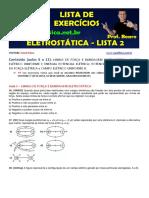 Eletrostática Lista 2 Aulas 6 a 11