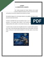 Leyenda Cuento Fabula y Adivinanza 2018