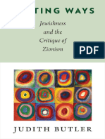 Butler, J - Parting Ways, Jewishness & Critique of Zionism (Columbia, 2012).pdf