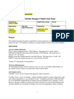Med Gas Sample Policy