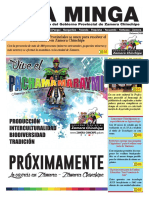 La Minga Informativo Febrero 2018 #ZamoraChinchipe