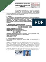 """Analisis de Caso """"Productos Químicos en Una Empresa"""""""