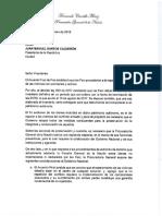 Carta Del Procurador Del Procurador Al Presidente Sobre Bienes de Farc