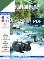 Showfou Monoblock Centrifugal Pump CV SPN SP SPM MCP