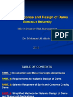 Seismic Response and Design of Dams_2016