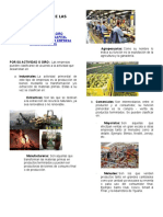 Clasificación de Las Empresas por sus tipos y divisiones