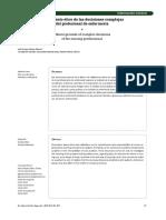 Fundamento Ético de Las Decisiones Complejas
