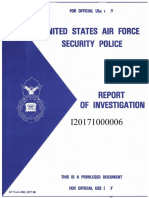 Air Force Academy report on Sept. 25 race hoax