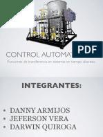 Tiempo discreto control automatizado