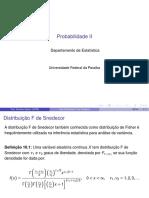 Distribuição F