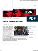20090807 Funding the Pakistani Taliban