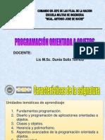 Programación Orienta a Objetos