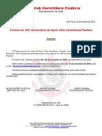 Regulamento Torneio Corinthians 2012