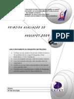 1ªAvaliação_Procefet2009