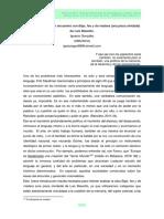 GONZÁLEZ, I. 2013. El hiato insalvable-un encuentro con Bajo, feo y de madera.pdf