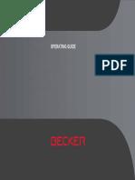 Manual Becker BE V4 en 57