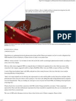 20130906 GSK mulling China withdrawal - Telegraph.pdf