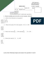 3 Grade Math Ecuaciones y Patrones (1)