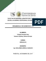 Hidraulica - Ejercicio 1.2