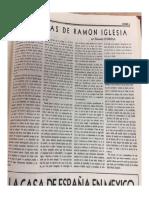 Dos Obras de Ramon Iglesia-O'Gorman