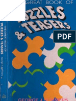 The Great Book of Puzzles and Teasers