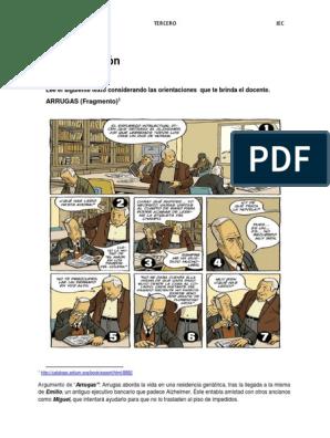 Ficha 5 Historieta 3ero Ficción Y Literatura